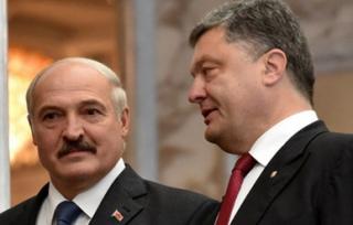Лукашенко поговорил с Порошенко о Донбассе, товарообороте и культуре