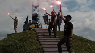 На Львовщине торжественно перезахоронили тела 23 бойцов дивизии «Галичина»