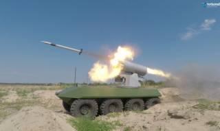 Порошенко похвастался успешным испытанием отечественного беспилотного БТР «Фантом-2»