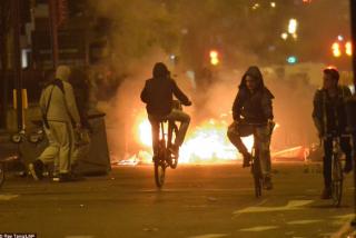 В Лондоне начались массовые беспорядки