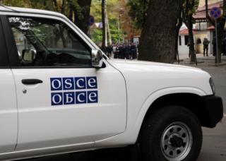 В районе Донецкой фильтровальной станции обстреляли наблюдателей ОБСЕ