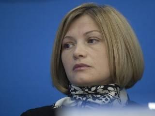 Геращенко сообщила о желании некоторых «иностранных чиновников» на время забыть о Крыме ради Донбасса