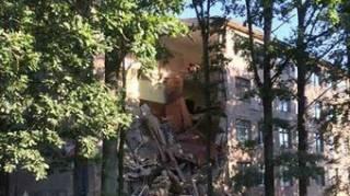 В Волынской области частично обрушилась стена колледжа