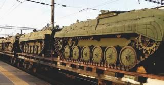 Россия стремительно перебрасывает войска к своей европейской границе