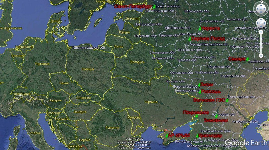 InformNapalm: РФ стягивает военную технику вдоль границы отПрибалтики доЧерного моря