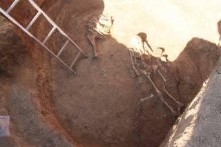 На Днепропетровщине археологи нашли останки скифской амазонки