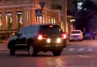 Полиция не оштрафовала кортеж Генерального прокурора, несмотря на грубое нарушение правил дорожного движения