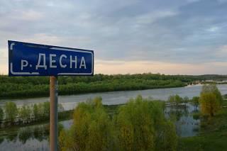 Под Киевом скатившийся с холма автомобиль раздавил отдыхающего на берегу реки мужчину