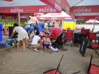 На полтавском пляже произошла перестрелка. Один человек погиб, ранен ребенок