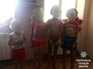 В Днепре у психически нездоровой женщины забрали четырех истощенных дочерей