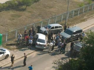 Жители Троещины утверждают, что нардеп Мельничук устроил стрельбу, пытаясь «отжать» детский садик
