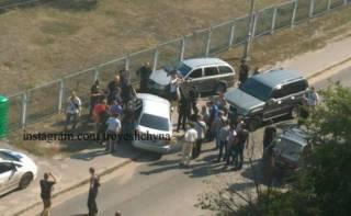 Полиция передала дело о стрельбе на Троещине в военную прокуратуру