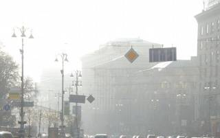 С каждым днем в Киеве растет уровень загрязнения воздуха