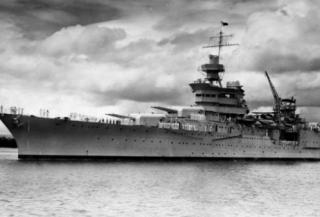 В Тихом океане нашли обломки легендарного крейсера «Индианаполис»