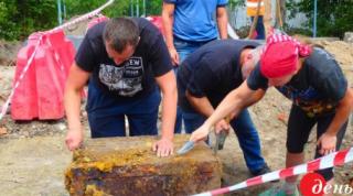В Виннице нашли запечатанный сейф нацистов