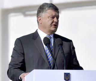 Виступ Президента під час церемонії урочистого підняття Державного Прапора України