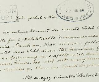 Письмо Эйнштейна, в котором физик выражает сомнения в будущем Европы, пойдет с молотка