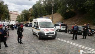 В правительственном квартале Киева прогремел взрыв. Есть пострадавшие