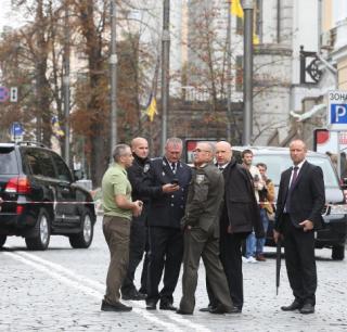 В полиции рассказали, кто пострадал во время взрыва в Киеве