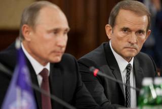 В СМИ появилась информация о тайной встрече Путина с Медведчуком