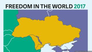 В Freedom House прокомментировали инцидент с картой, на которой Крым стал российским