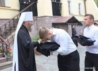 Более 250 первокурсников начнут обучение в Киевской духовной академии и семинарии