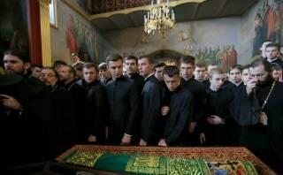 Будущие священники молились у мощей Нестора Летописца в день начала учебного года
