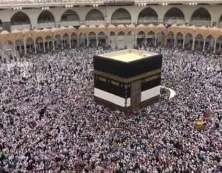 Саудовская Аравия опубликовала невероятные кадры многомиллионного хаджа в Мекку с высоты птичьего полета