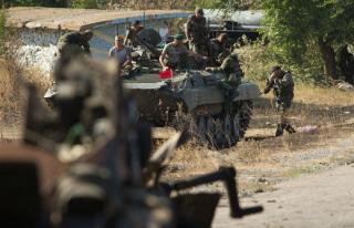 В оккупированном Донецке боевики за три дня провели около 300 облав