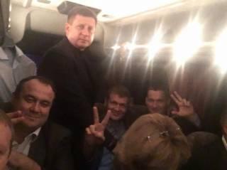 Депутаты и министры Порошенко отпраздновали начало политического сезона у президента в «Залесье»