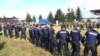 Сегодня Саакашвили попытается пересечь польско-украинскую границу с женой и сыном. Их там уже ждут