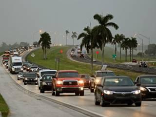 Из-за урагана «Ирма» некоторые районы Майами ушли под воду