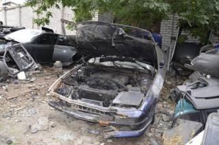 В Николаеве найдено автокладбище «утопленников» и краденых иномарок