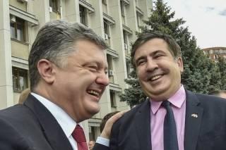 Противостояние Порошенко и Саакашвили... Смотрите на Авакова!