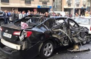 После взрыва в центре Киева спрос на бронированные авто вырос в несколько раз