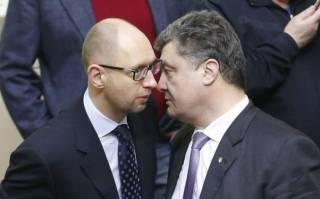 Порошенко и Яценюк пытаются договориться об объединении своих партий, – СМИ