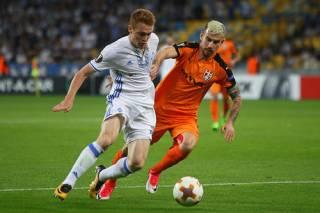 Лига Европы: «Динамо» не без проблем обыграло албанцев, «Заря» проиграла шведам