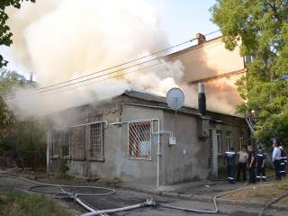 На одной из старейших улиц Николаева прогремел взрыв