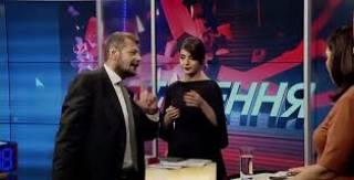 Пригубив шампанского перед эфиром, Мосийчук устроил скандал на ток-шоу