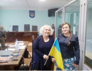 Штепа показала журналистам свой новый дом, в котором ее приютила подруга