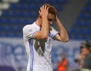 «Динамо» снова отдало первое место «Шахтеру», не сумев обыграть дома скромный «Верес»