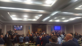 В Киевском облсовете произошла драка
