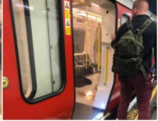В Лондонском метро прогремел взрыв. Говорят, взорвался перегревшийся мобильный телефон