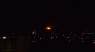 В Винницкой области горит крупнейший склад боеприпасов ВСУ
