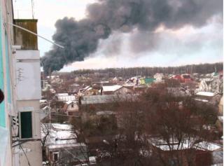 В СБУ уже уверены, что пожар в Калиновке – диверсия. Правда, есть и другие версии