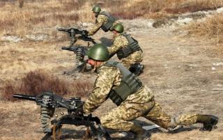 В Запорожской области во время военных учений погиб гражданский