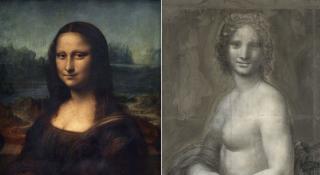 Во Франции нашли рисунок, который может оказаться эскизом для обнаженной Моны Лизы