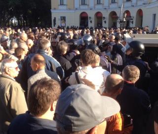 В Одессе митинг Саакашвили стал поводом для массовой драки