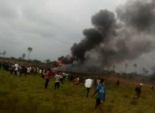 В Конго разбился военный самолет. На борту были украинские летчики