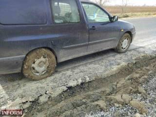Украина оказалась на краю грязной и глубокой обочины скоростной автострады